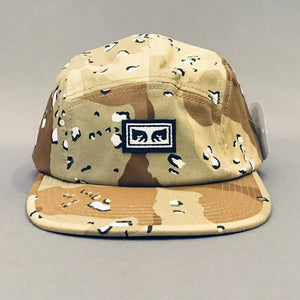 Obey Subversion 5 Panel Hat