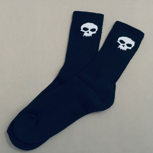 Zero Single Skull Socks