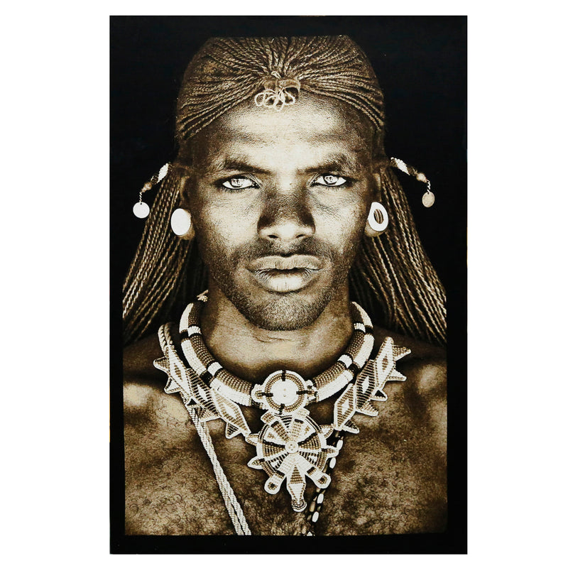 Tapestry Samburu Warrior Kenya