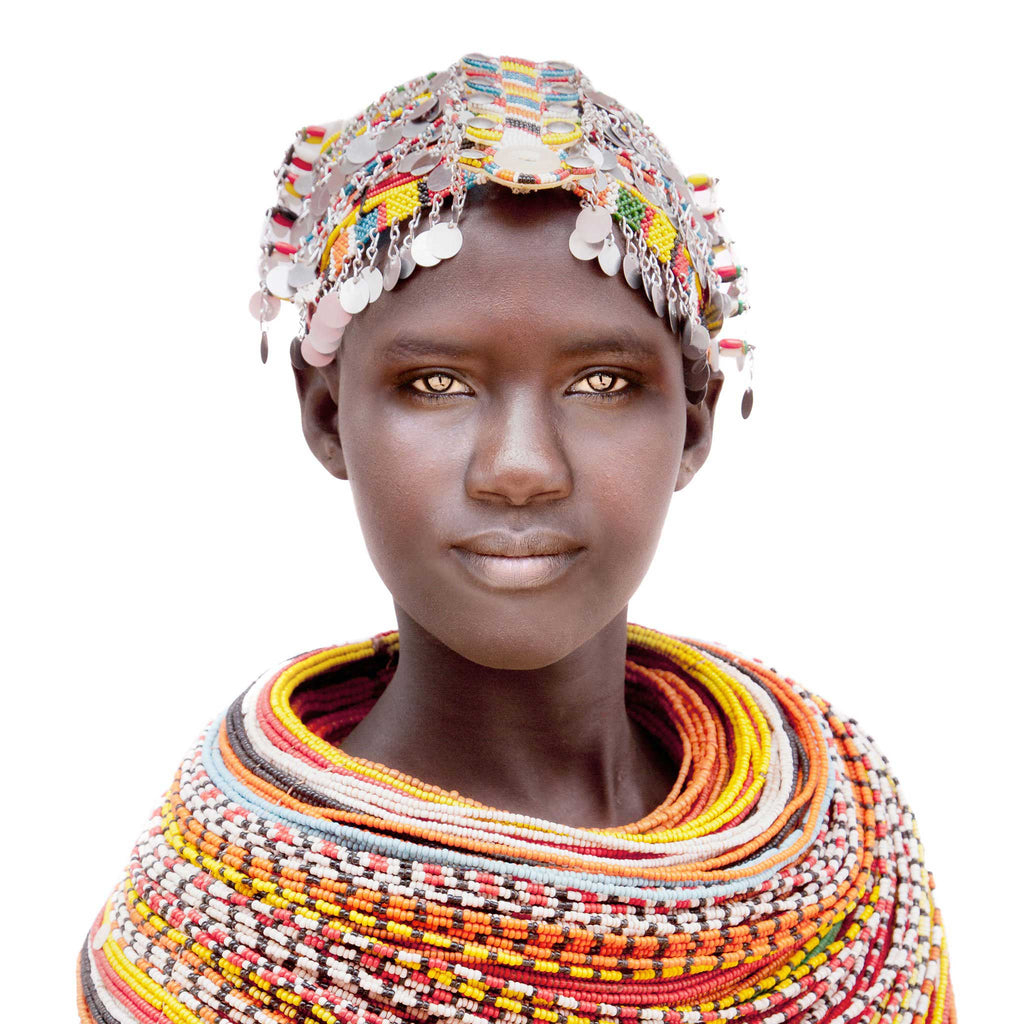 Samburu Girl Cushion