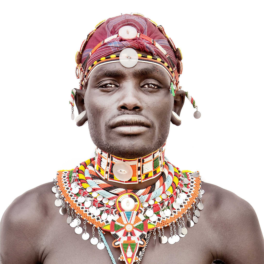 Samburu Man Cushion