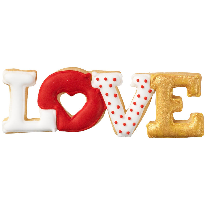 Cookie Cutter Love Lettering