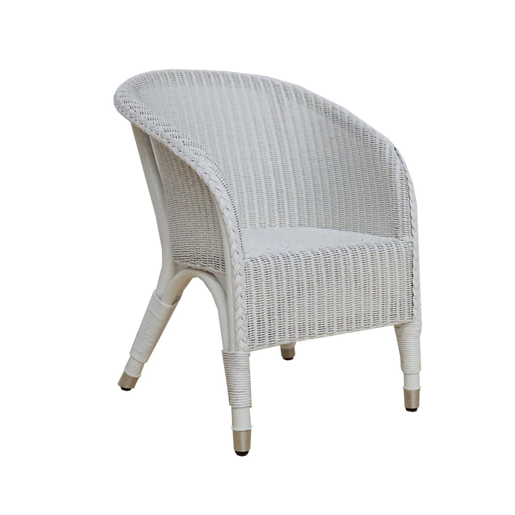 Pookie children chair in white Lloyds loom