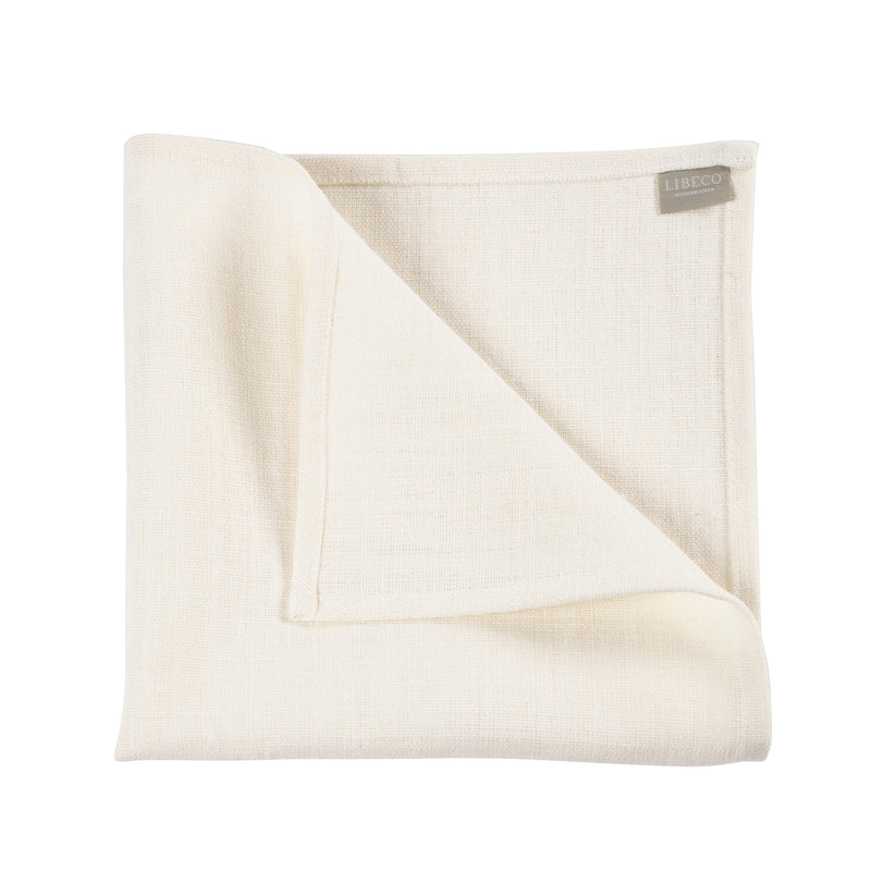 Libeco linen napkins Napoli Vintage pack of 6 made in Belgium