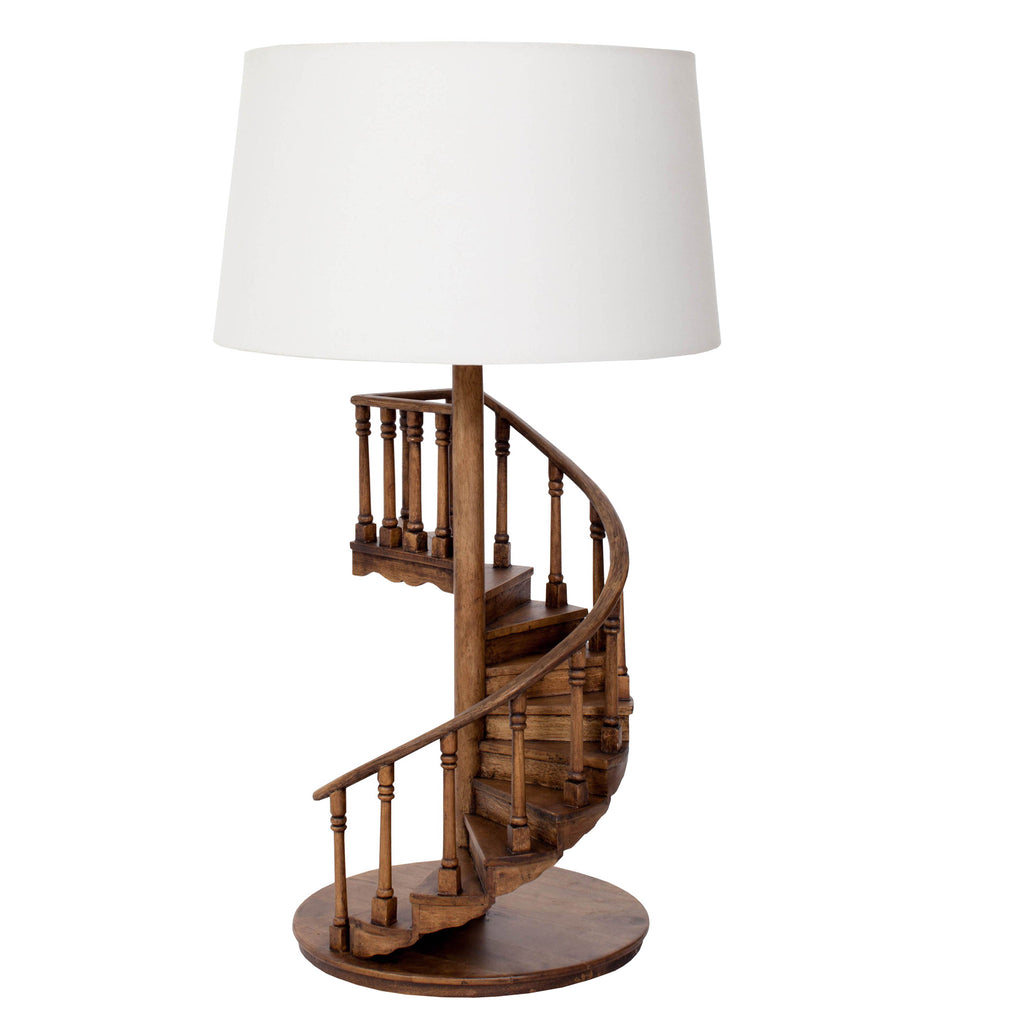 Brianna Spiral Staircase Table Lamp