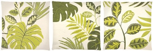 Green Leaves Outdoor Cushion Cover