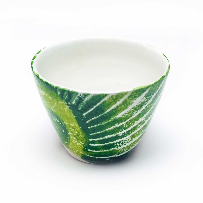 Hand Painted Leaf Dip Bowls - Assorted Set of 4