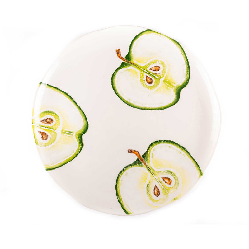 Hand Painted Fruits Large Round Platter - Assorted