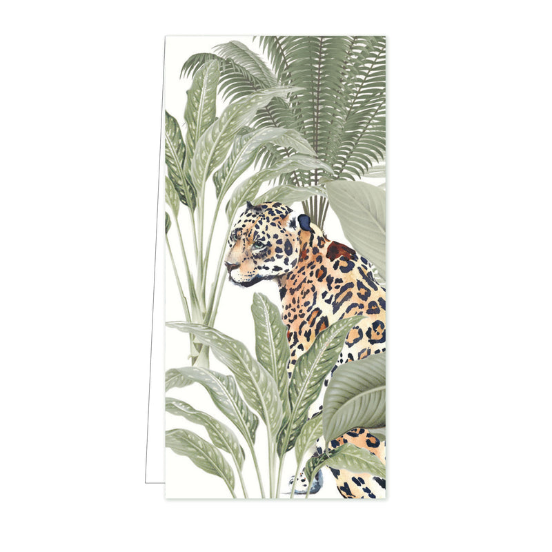 Flower Card Into the Wild Tiger