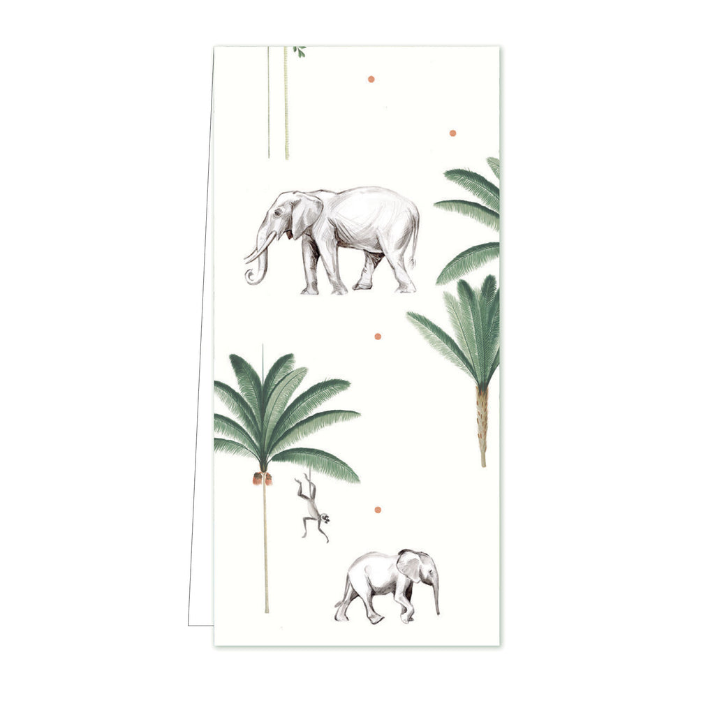 Flower Card Little Elephant