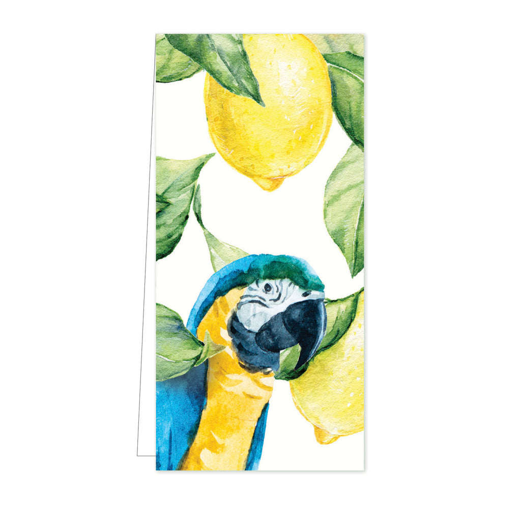 Flower Card Yellow Lemontree