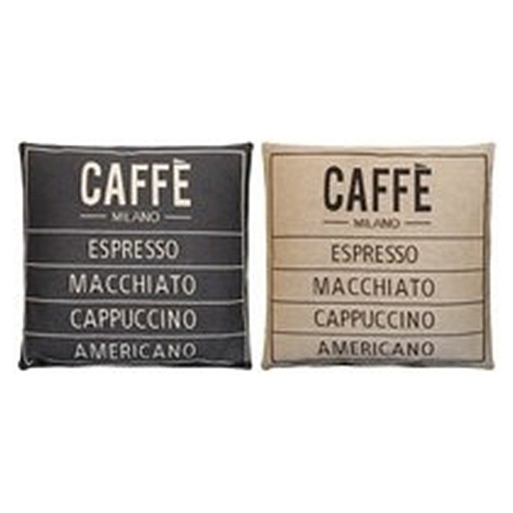 Caffe Cushion Cover