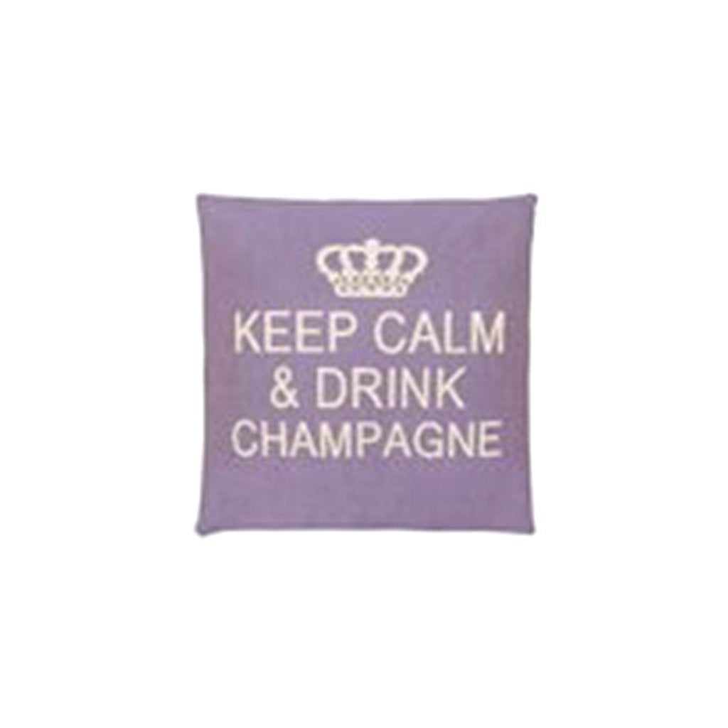 Drink Champagne Cushion Cover