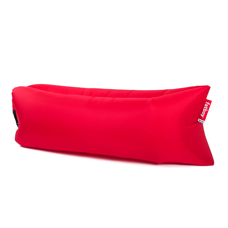 Fatboy Lamzac The Original red nylon inflatable outdoor seat bag