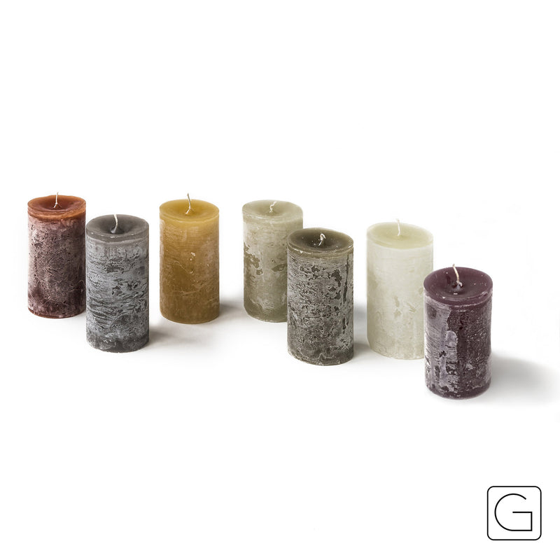 Cyl. Candle D5.7 x H10 CM