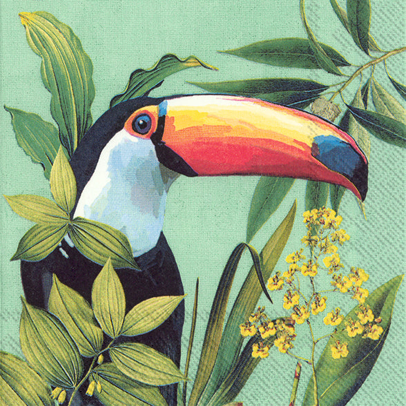 Lunch Mix Napkin Toucan in Paradise