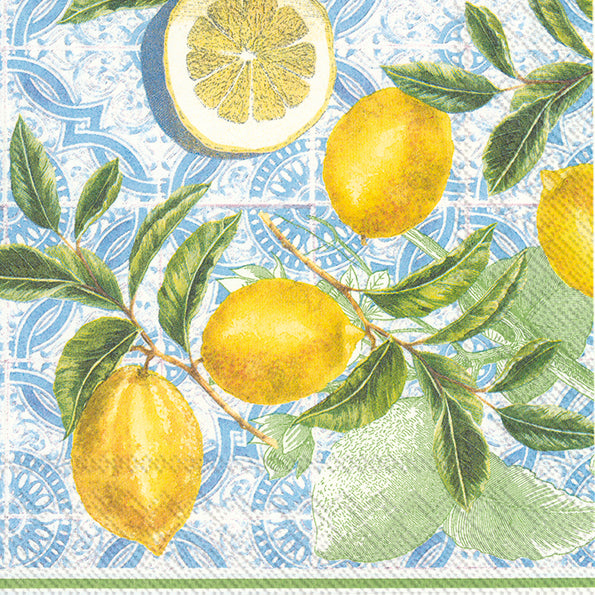 Lunch Mix Napkin Citrus Limon
