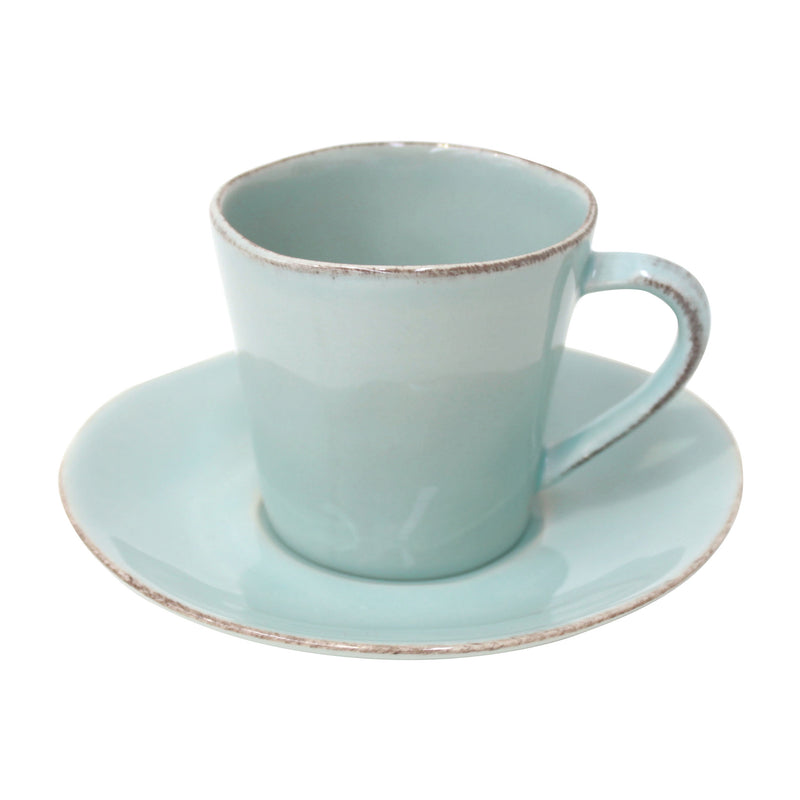 Nova Tea Cup & Saucer (Set of 6)