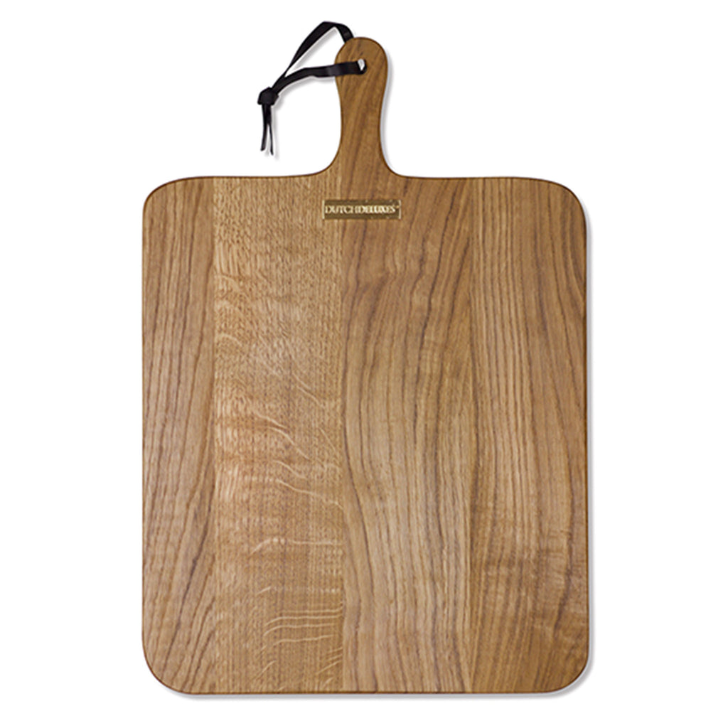 Bread Board XL Square Oak Wood