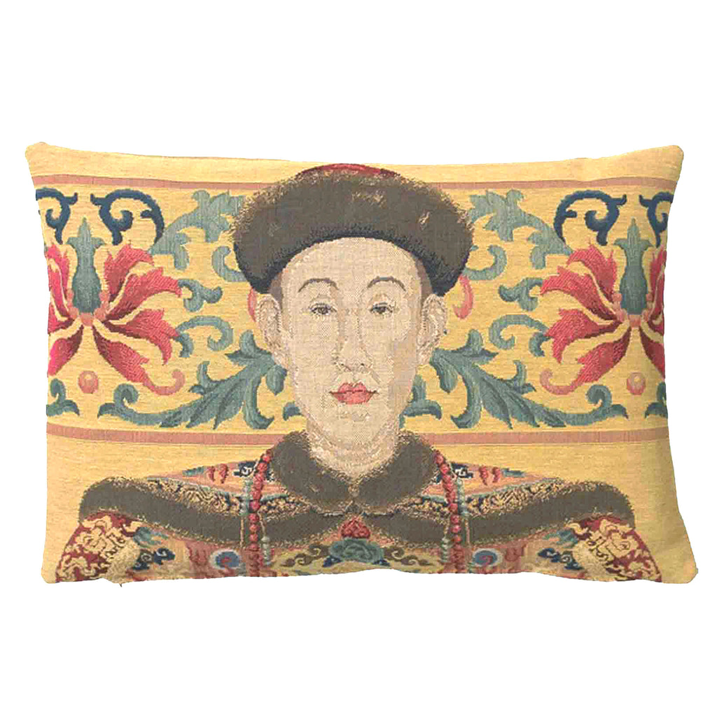Oriental Man Cushion Medium