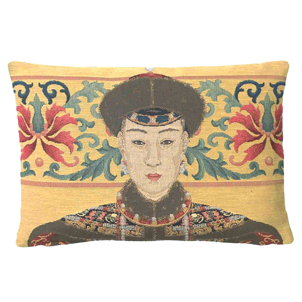 Oriental Woman Cushion Medium