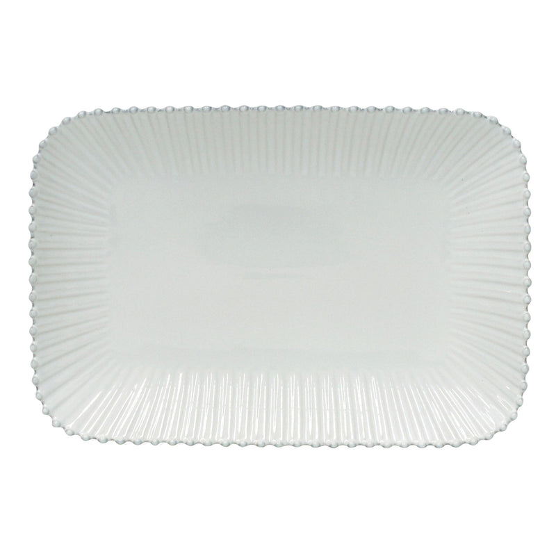 Pearl Rectangular Tray 40cm