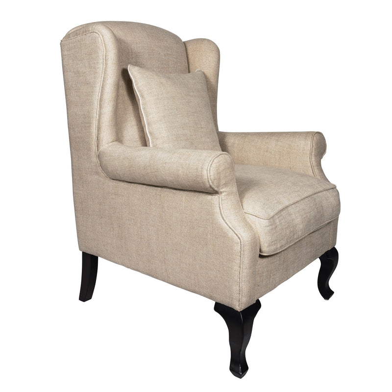Arm Chair in 100% Pure Belgian Linen Pantuti