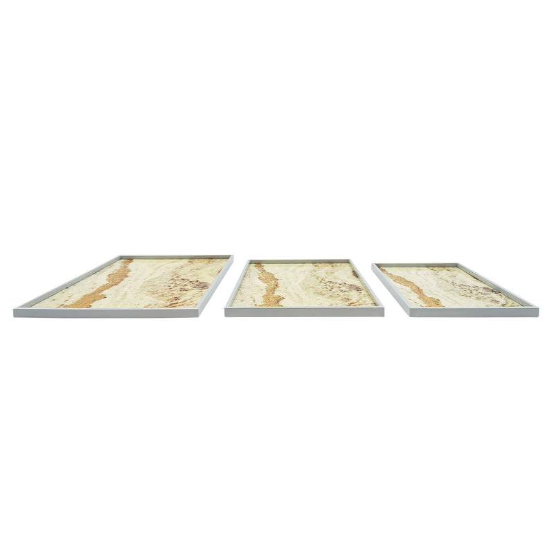 lacquer trays lacquer ware rectangular set of 3