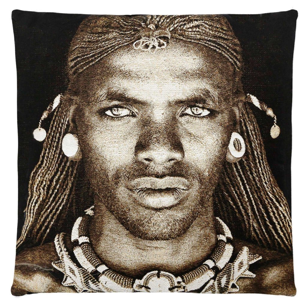 Samburu Warrior Cushion