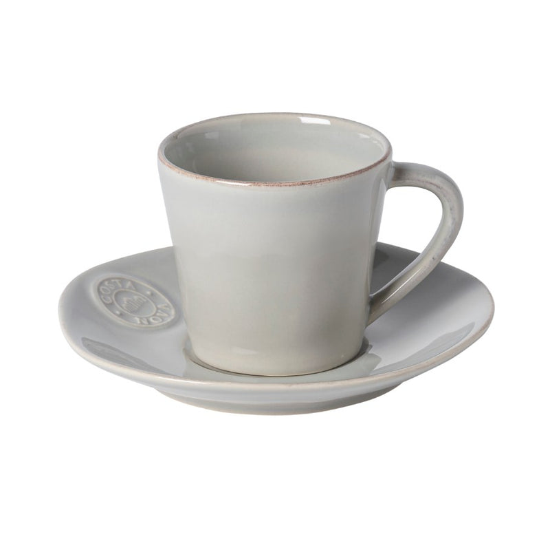 Nova Tea Cup & Saucer 0.19L (Set of 6)