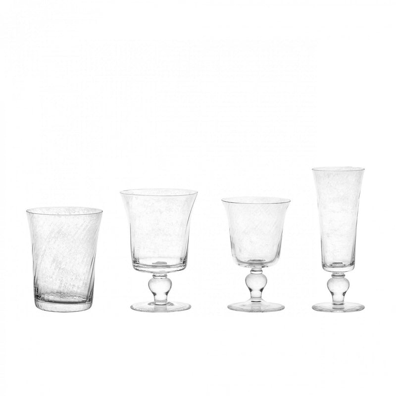 Espiral Glass set of 6