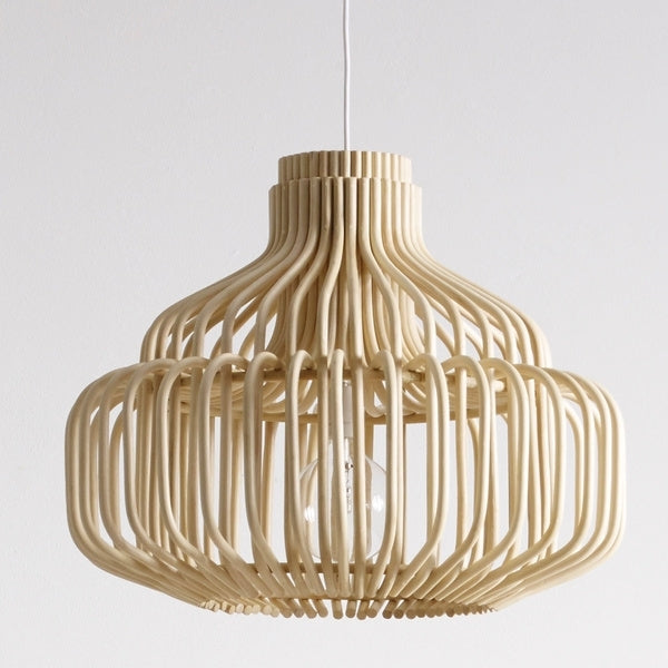lamp in rattan natural endless