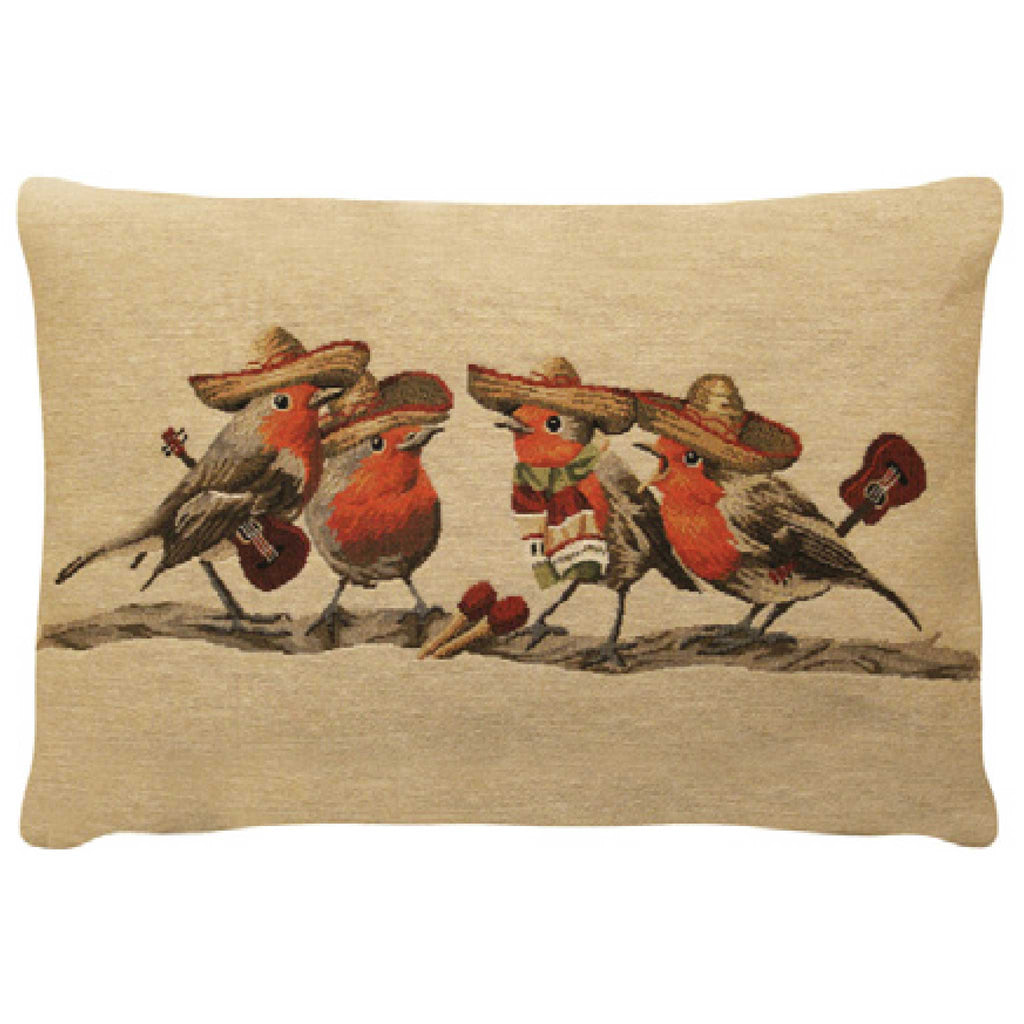 Singing Birds Cushion Cover