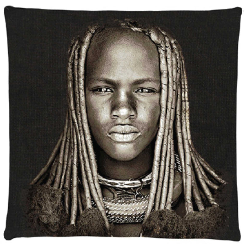 Himba Girl Cushion