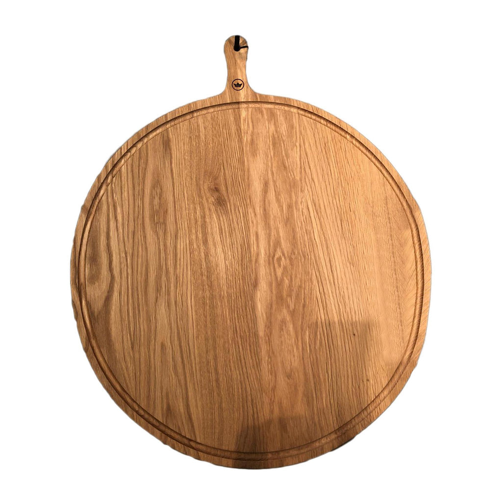 Bread Board XL Round Oak Wood