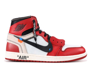 "THE 10: AIR JORDAN 1 ""OFF-WHITE CHICAGO"""