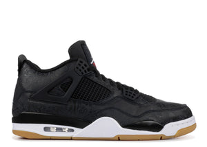 "AIR JORDAN 4 RETRO LASER ""BLACK GUM"""