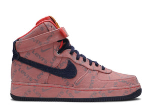 "LEVI'S X NIKE BY YOU X AIR FORCE 1 HIGH ""EXCLUSIVE DENIM"""