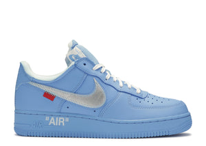 "NIKE AIR FORCE 1 '07 OFF-WHITE MCA ""UNIVERSITY BLUE"""