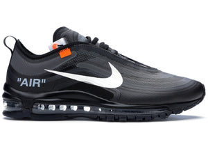 "NIKE OFF-WHITE X AIR MAX 97 ""BLACK"""
