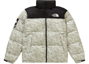 "Supreme The North Face Paper Print Nuptse Jacket ""Paper Print"""