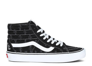 "VANS SUPREME x SK8-HI HOLE PUNCH DENIM ""BLACK"""
