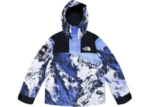 "Supreme The North Face Mountain Parka ""Blue/White"""