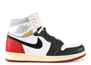 "AIR JORDAN 1 RETRO HI NRG UNION ""BLACK TOE"""