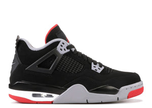 "AIR JORDAN 4 RETRO (GS) ""BRED"" 2019"