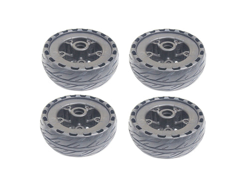 Set of 4 165mm Airless Wheels For Raldey Carbon AT - Raldey USA
