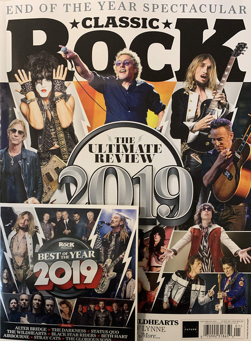 Classic Rock Issue 270 (January 2020) - 2019: The Ultimate Review