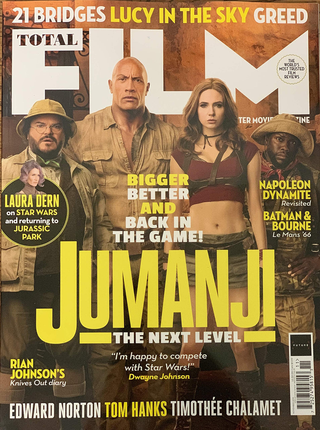 Total Film Issue 291 (November 2019) Jumanji: The Next Level