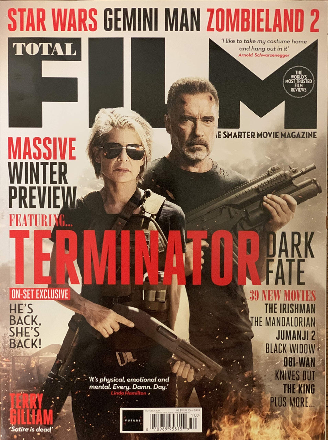 Total Film Issue 290 (October 2019) Terminator: Dark Fate