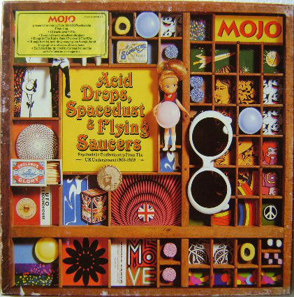 Various - Mojo Presents Acid Drops, Spacedust & Flying Saucers
